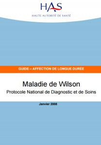 guide pnds maladie wilson